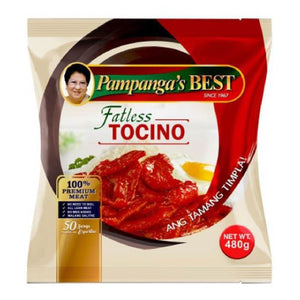 Pampangas Best Tocino Fatless 480g