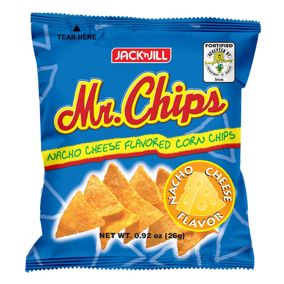Mr Chips Nacho Cheese 26g