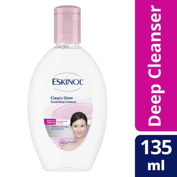 Eskinol Classic Glow Facial Deep Cleanser 135ml