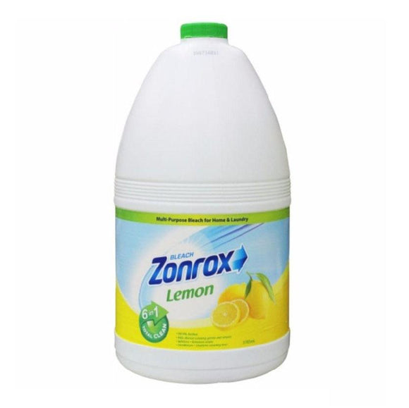 Zonrox Bleach Lemon Scent 1 Gallon