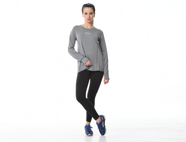 Run Performance Long Sleeve Shirt Graphite