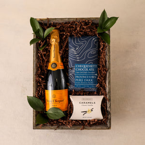 Load image into Gallery viewer, Champagne Split Gift Tray