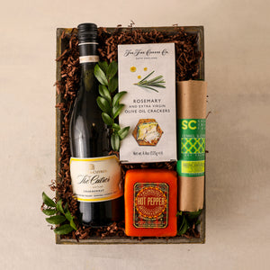 White Wine Gift Tray