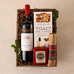Red Wine Gift Tray