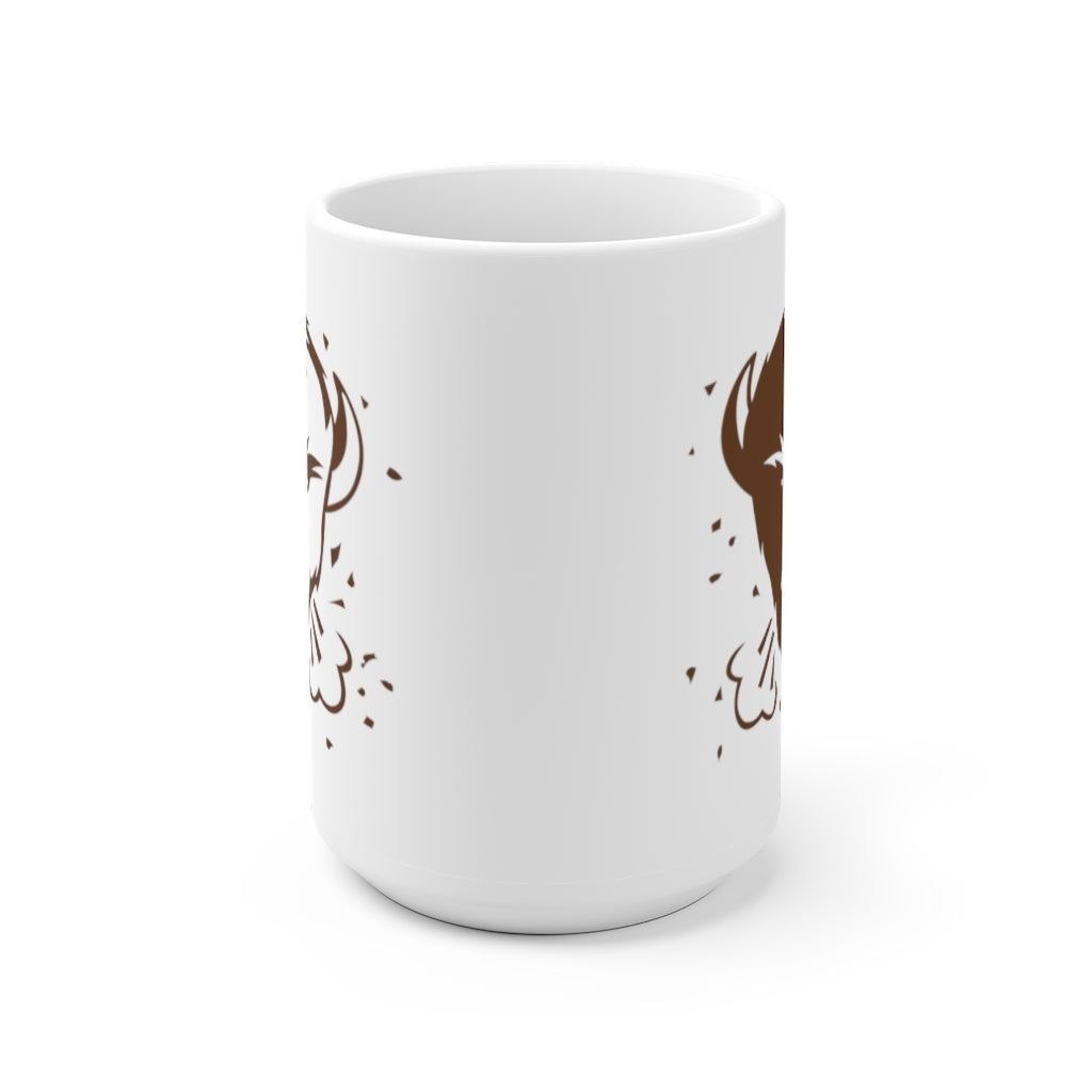 Coffee Cup (brown icon logo)