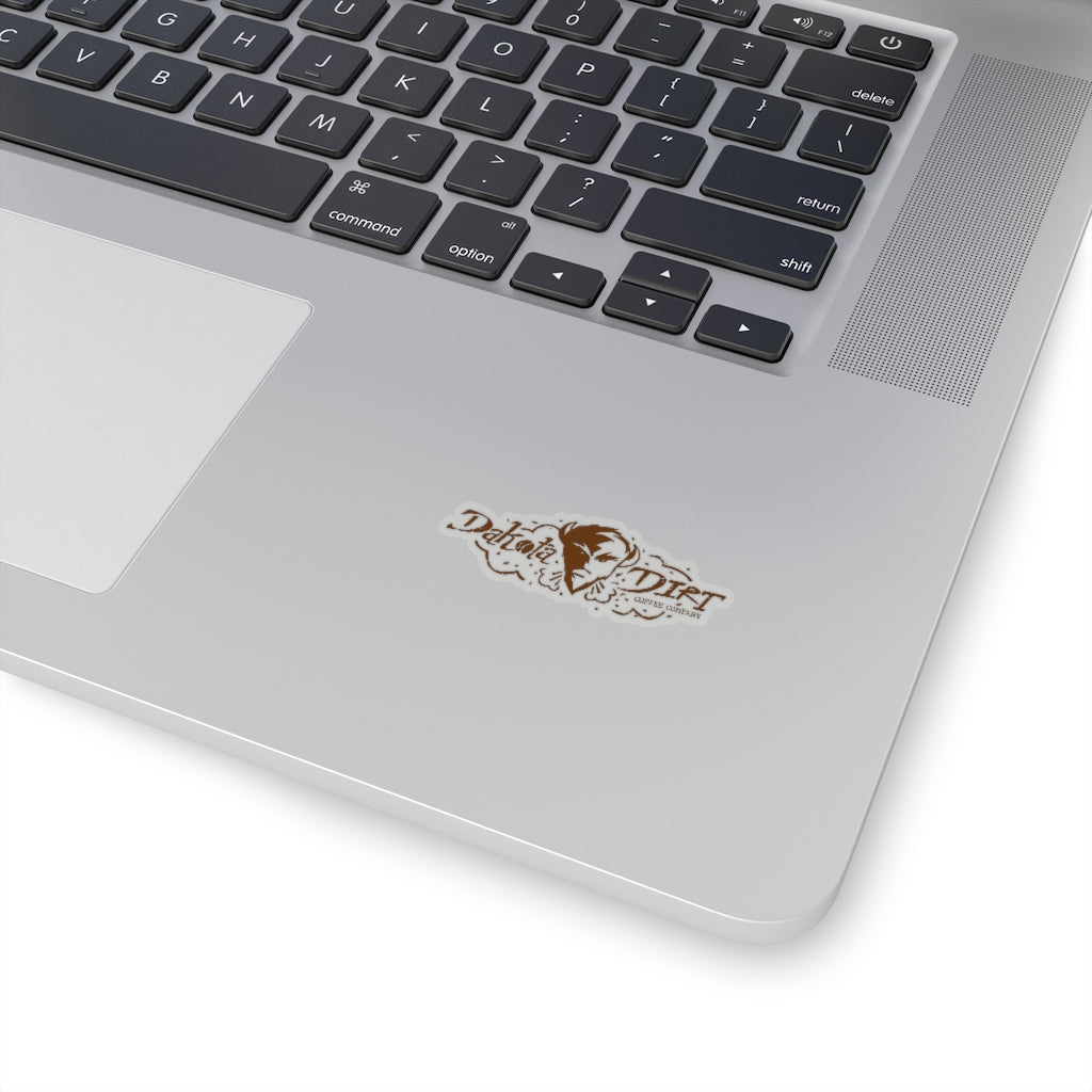 Sticker (brown full logo)
