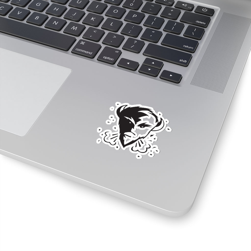 Sticker (black icon logo)