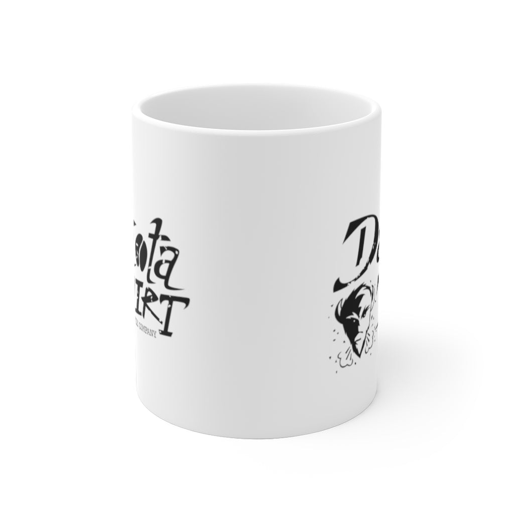 Coffee Cup (black text + icon logo)