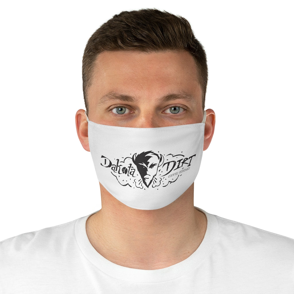 Face Mask (black full logo)