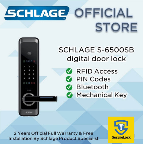 Schlage S-6500F Digital Touchpad Lock