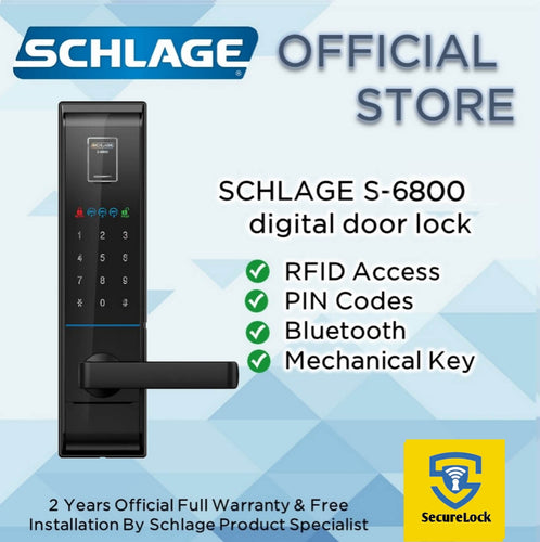 Schlage S-6800 Digital Touchpad Lock
