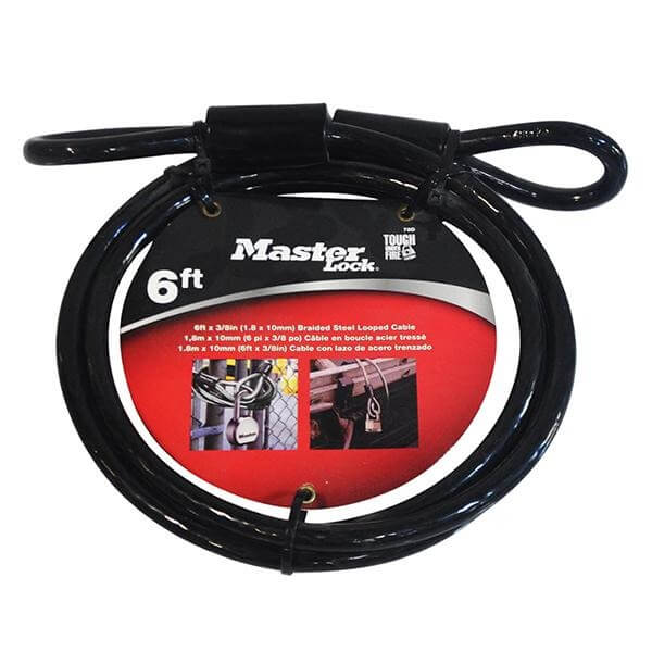 Masterlock 78DPF Cable Braided Steel