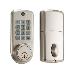 Metalware Keypad Deadbolt Door Lock MWD100