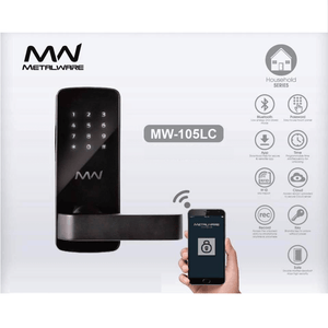 Metalware Digital Door Lock MW105LC