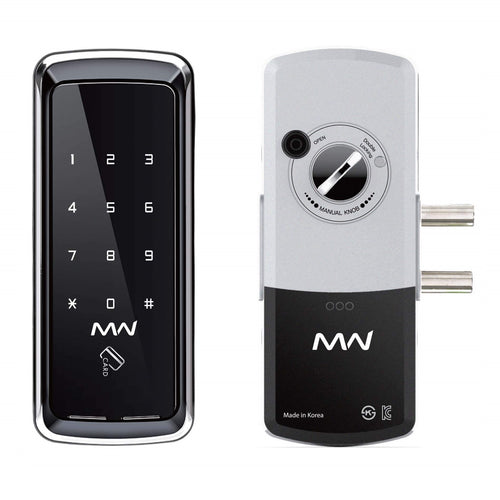 Metalware Digital Lock for Glass Doors MWG32