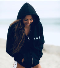 Load image into Gallery viewer, Black Yage Hoodie