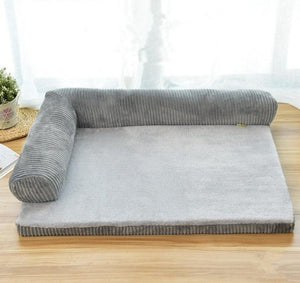 Sofa Style Cushioned Pet Bed