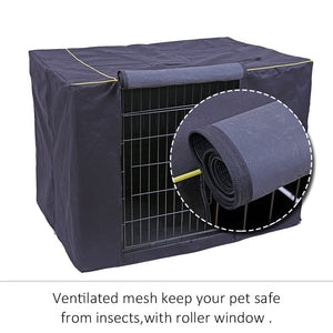 Large Outdoor Waterproof Dog Crate Cover