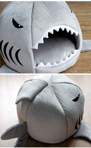 Shark Cave Style Pet Bed