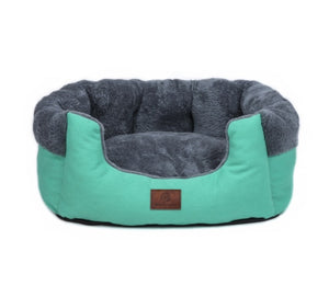 turquoise pet bed