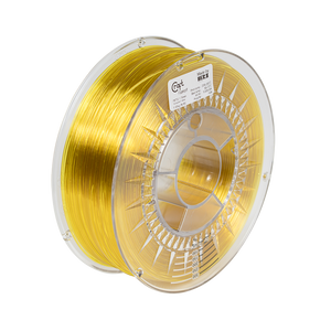 PET-G filament Transparent Yellow 1kg