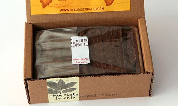 Tablette Chocolat - Orange Napolitain 160g - Chocolat - L'Arbre à Café