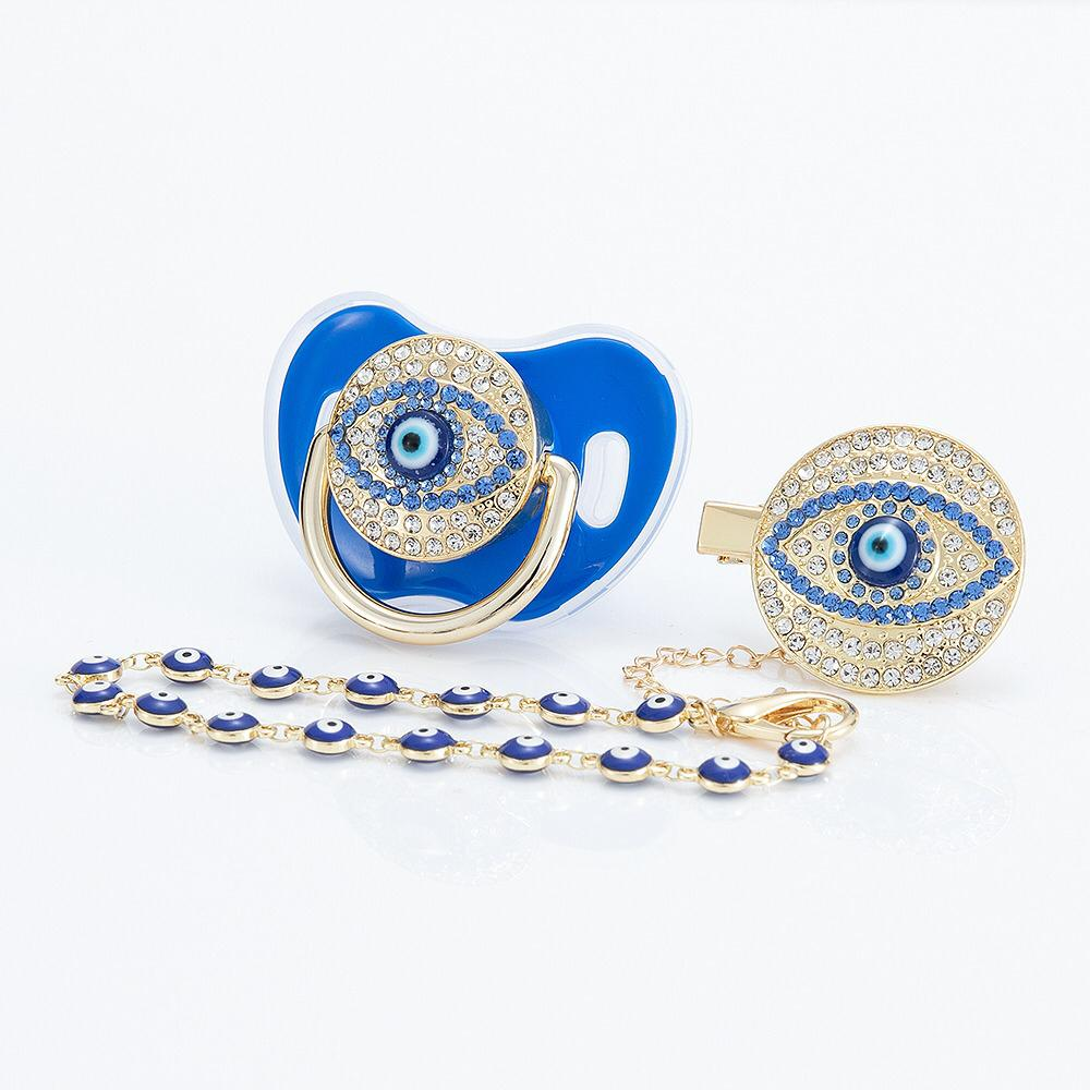 Evil Eye Blue Chain
