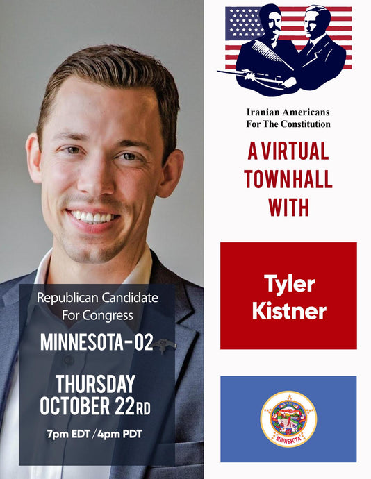 A Virtual Town Hall with Congressional Candidate Tyler Kistner, Minnesota's 2nd Congressional District