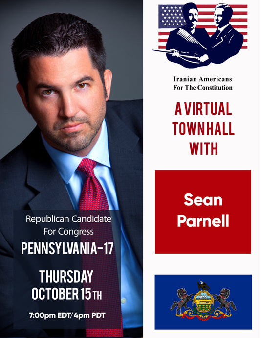 A Virtual Town Hall with Congressional Candidate Sean Parnell, Pennsylvania's 17th Congressional District
