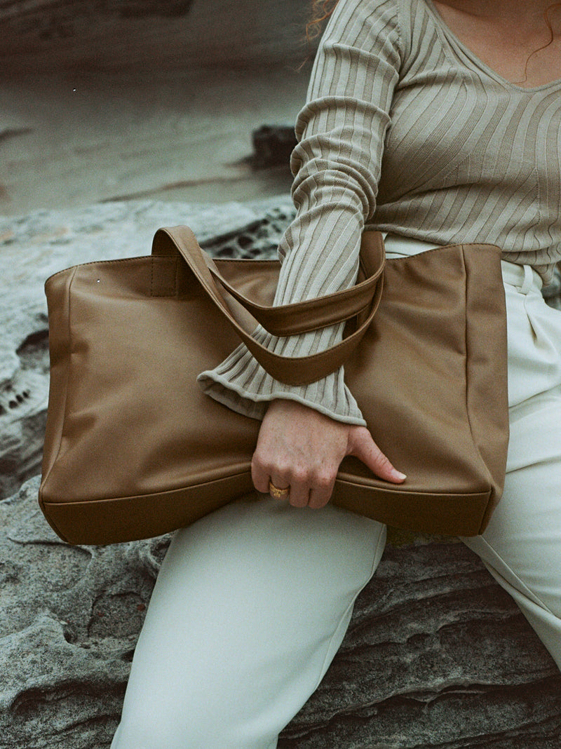 Structured Carry All | Driftwood