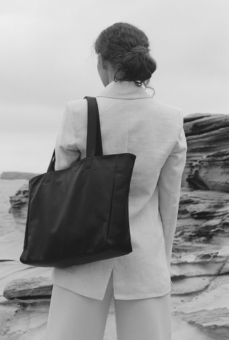 Structured Carry All | Charcoal