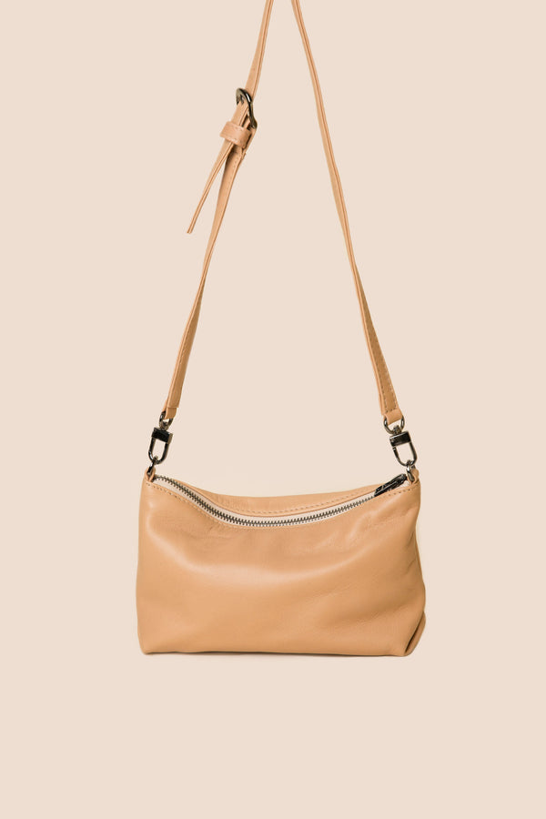 Sista Crossbody| nude tan