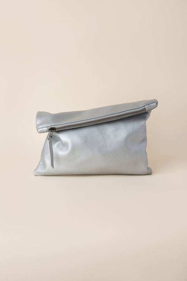Steel Clutch | Soft Silver