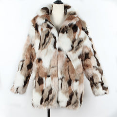 Plus Size Fashion Faux Fur Coat Women Winter Long Coat 2020 Autumn Warm Soft Leopard Print  Jacket Female Overcoat Outerwear