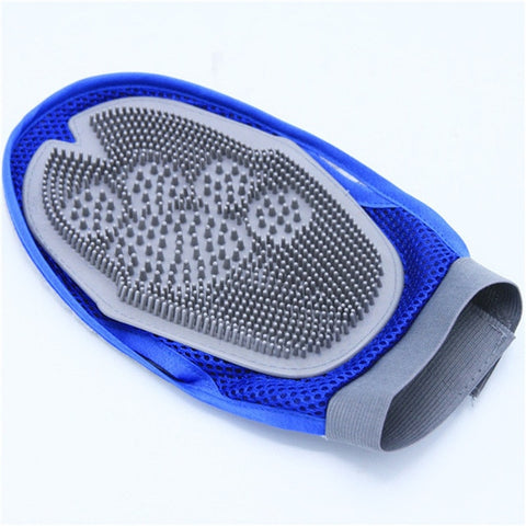 Soft Mitt Cat Dog Grooming Glove Brush Deshedding & Massaging Tool For Long & Short Hair Pets Eliminates Shedding and Matting