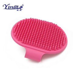Massage Mit pet shower dog brush Hair Remove Qualified Pet Dog Cat Bath Glove Brush Comb Rubber Hair Fur Grooming Massaging