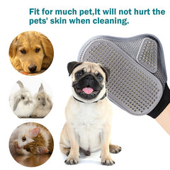 Pet Grooming Glove Hair Removal Brush Cat Dog Fur Hair Deshedding Gentle Efficient Dog Combs Pet bathing Massage Products 20