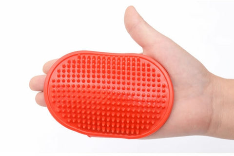 Dog Cat Bath Brush Pet Comb Rubber Glove Hair Fur Grooming Massaging Massage Glove Pet Shower Dog Brushes Drop Shipping
