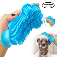 Dog Brush Comb Grooming Glove Long Short Hair Remover Pet Bathing Shower Tool Dog Cat Massaging Massage