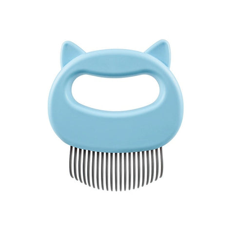 Pet cat dog massage comb shell comb grooming hair removal shedding cleaning brush TXTB1