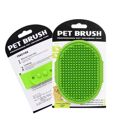 Pet Dog Cat Bath Brush Comb Rubber Glove Hair Fur Grooming Massaging Massage Kitchen Cleaning Gloves pets Silicone Washing Glove