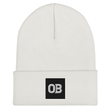 Load image into Gallery viewer, OB Cuffed Beanie - White/Green/Grey/Red