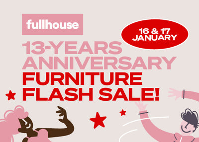13th Anniversary Flash Sale
