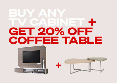 Receive 20% off Coffee Tables with our Bundles