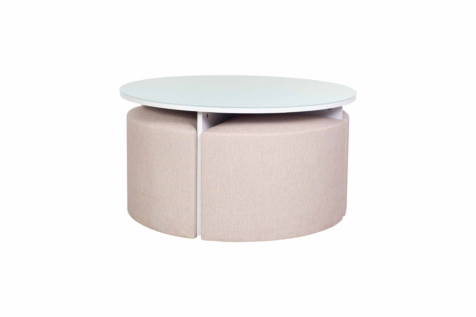Sothy Coffee Table with 4 Stools