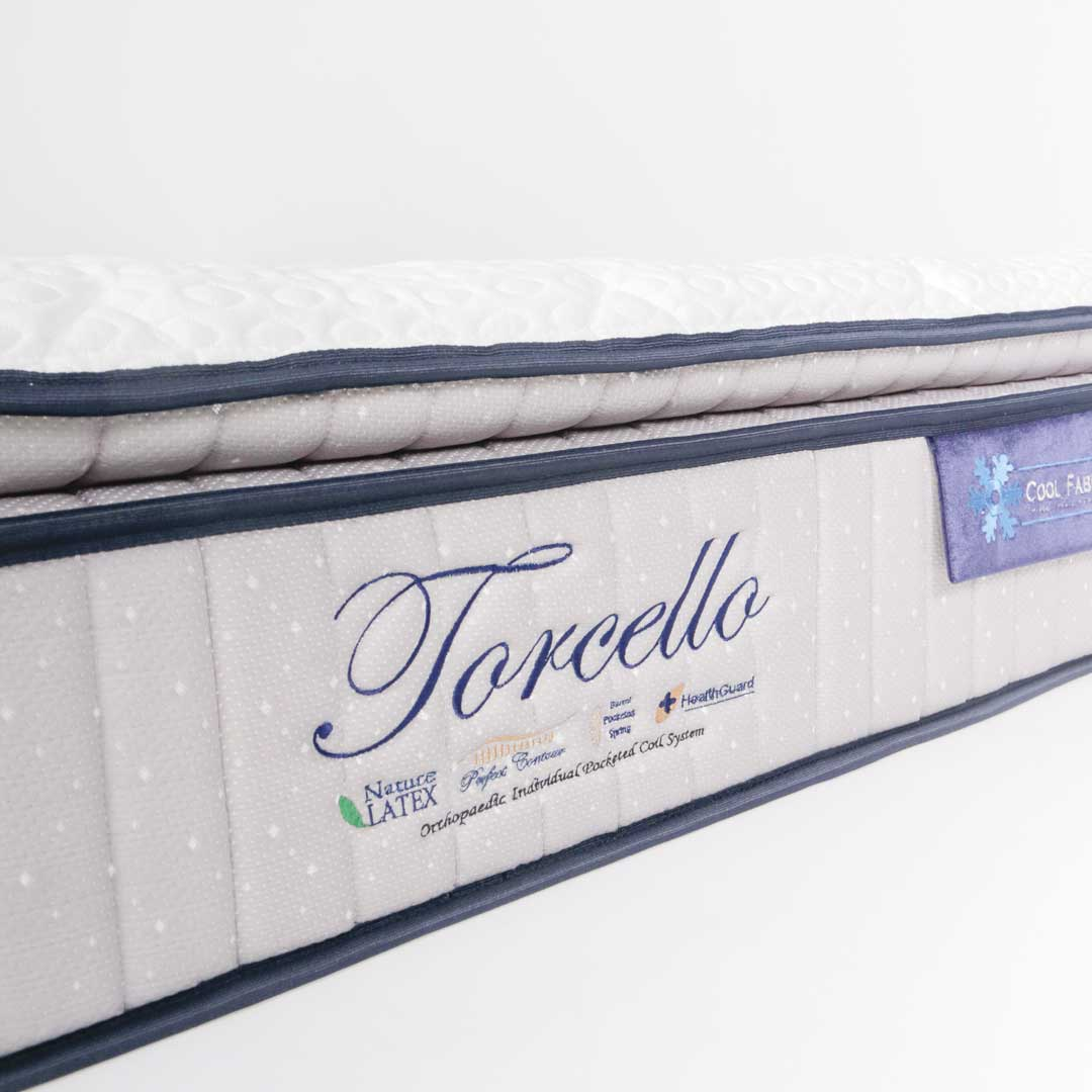Torcello 5FT Cool Fabric Pocketed Spring Mattress