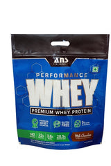 ANS Performance Premium whey Protein 4 KG Milk Chocolate