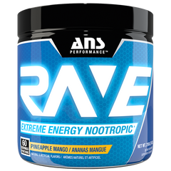 ANS Performance RAVE Extreme Energy Nootropic Pineapple Mango 210 gm