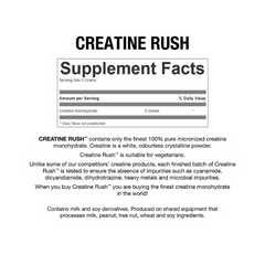 BioX Creatine Rush 270 gms unflavoured