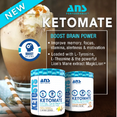 ANS Performance  KETOMATE - Coffee Booster 293 gms